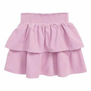 NWT Mini Boden Tiered Ruffle Corduroy Skirt 7-8Y